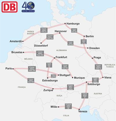 Mapa Trens
